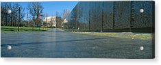 Vietnam Veterans Memorial, Washington Dc Acrylic Print by Panoramic Images