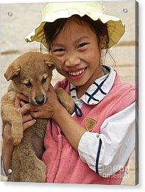 Vietnamese Girl 02 Acrylic Print