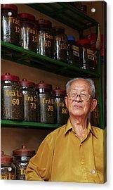 Vietnamese Old Man Acrylic Print