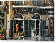 Vieux Carre Girl Acrylic Print