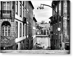 View Across The Douro Acrylic Print by John Rizzuto