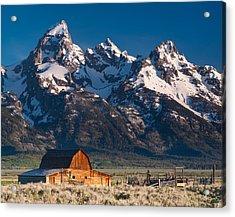 View At John Moulton Barn Acrylic Print