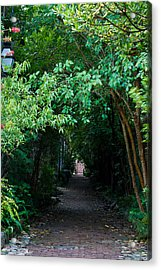 View Down Philadelphia Alley Acrylic Print