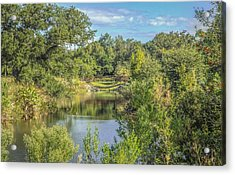 View Down The Creek Acrylic Print