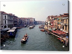 View From A Bridge Acrylic Print