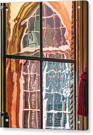 View From Another Window Acrylic Print by Carolyn Marshall