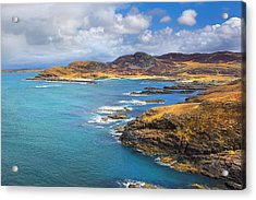 View From Ardnamurchan Acrylic Print by David Hare
