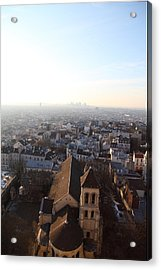 View From Basilica Of The Sacred Heart Of Paris - Sacre Coeur - Paris France - 011318 Acrylic Print