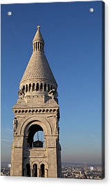 View From Basilica Of The Sacred Heart Of Paris - Sacre Coeur - Paris France - 011324 Acrylic Print by DC Photographer