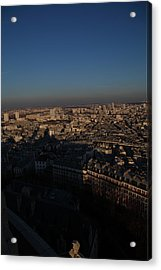 View From Basilica Of The Sacred Heart Of Paris - Sacre Coeur - Paris France - 011325 Acrylic Print by DC Photographer
