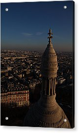 View From Basilica Of The Sacred Heart Of Paris - Sacre Coeur - Paris France - 011331 Acrylic Print by DC Photographer
