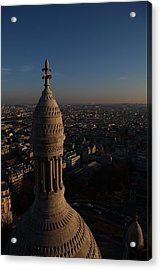 View From Basilica Of The Sacred Heart Of Paris - Sacre Coeur - Paris France - 011333 Acrylic Print by DC Photographer
