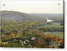 View From Bowman's Tower South Acrylic Print by Addie Hocynec
