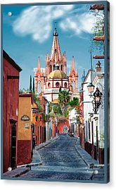 View From Calle Adama Acrylic Print