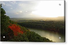 View From Chauncey Peak Acrylic Print by Stephen Melcher