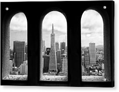 View From Coit Tower Acrylic Print by Celso Diniz