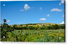 Acrylic Print featuring the photograph View From Crystal Cove by Joseph Hollingsworth