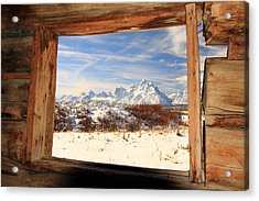 View From Cunningham Cabin Acrylic Print