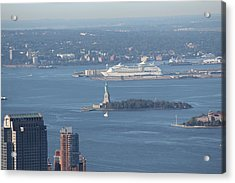 View From Empire State Building Acrylic Print