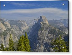 View From Glacier Point Yosemite Acrylic Print