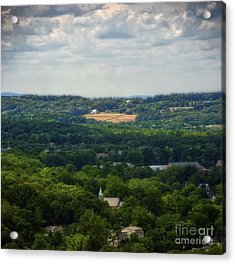 Acrylic Print featuring the photograph View From Goat Hill by Debra Fedchin