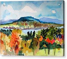 View From Kripalu In Fall Acrylic Print