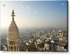 Acrylic Print featuring the photograph View From Montmartre by Jon Emery