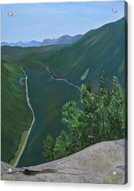 View From Mount Willard Acrylic Print