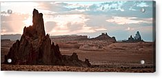 View From My Horse Acrylic Print