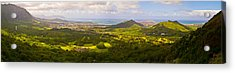 View From Nuuanu Pali Acrylic Print by Matt Radcliffe