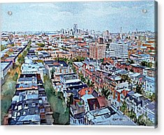 View From Penthouse Prospect Park West Acrylic Print