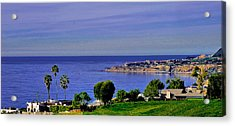 View From Pv Acrylic Print by Joseph Hollingsworth