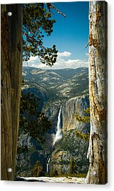 View From Sentinel Dome Acrylic Print by Celso Diniz