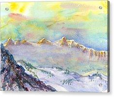View From Snowbird Acrylic Print
