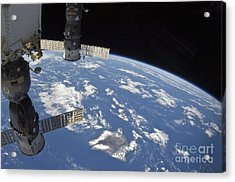 View From Space Showing Part Acrylic Print by Stocktrek Images
