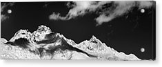 Acrylic Print featuring the photograph View From St. Moritz by Marc Huebner