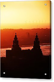 View From The Anglican Cathedral Acrylic Print