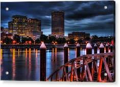 The Eastbank Acrylic Print