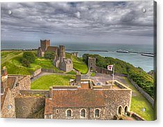 View From The Great Tower Acrylic Print by Tim Stanley