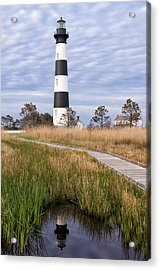 View From The Marsh Acrylic Print by Gregg Southard
