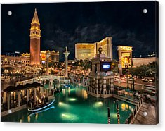 View From The Venetian Acrylic Print