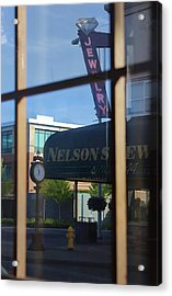 View From The Window Auburn Washington Acrylic Print by Cathy Anderson