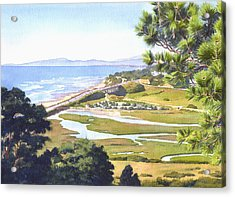 View From Torrey Pines Del Mar Acrylic Print