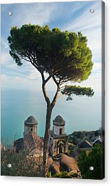 View From Villa Rufolo Acrylic Print by Christopher Groenhout
