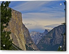 View From Wawona Tunnel Acrylic Print
