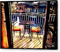 Acrylic Print featuring the photograph View by Leslie Hunziker