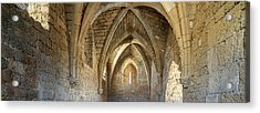 View Of Arches And Ceiling Of An Old Acrylic Print