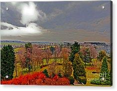 View Of Belgium Acrylic Print