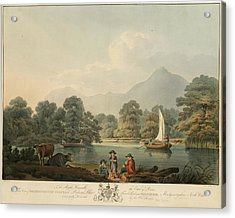 View Of Brydden And Moely Golfe Acrylic Print by British Library