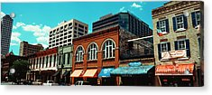 View Of Buildings On 6th Street Acrylic Print by Panoramic Images